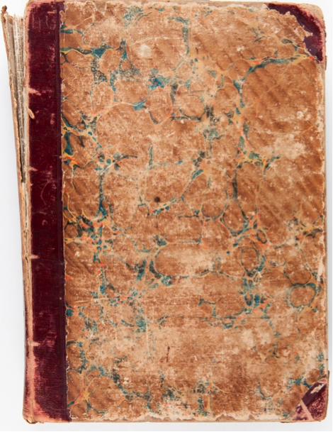 The Dowling Songbook, bound by Francis Ellard c.1840. Rouse Hill House & Farm, R84/869:1-2