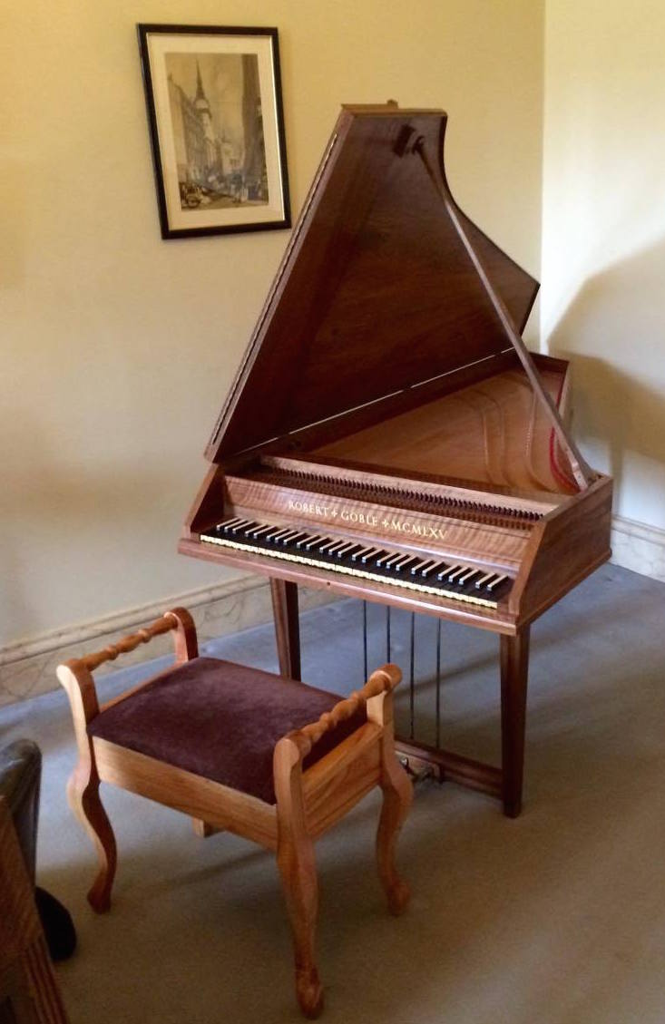 Goble Harpsichord at Mottisfont