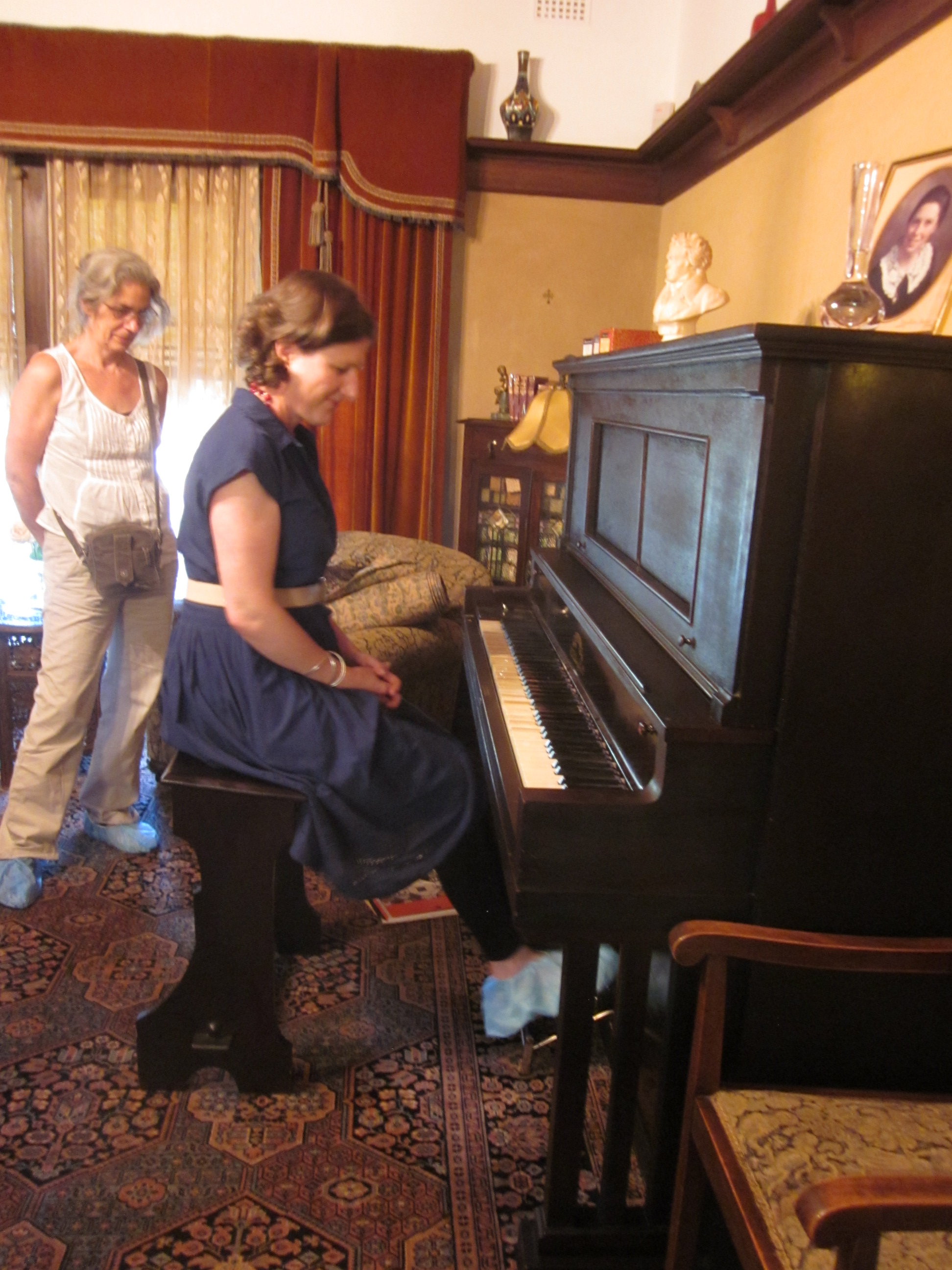 Pianola at Calthorpes' House