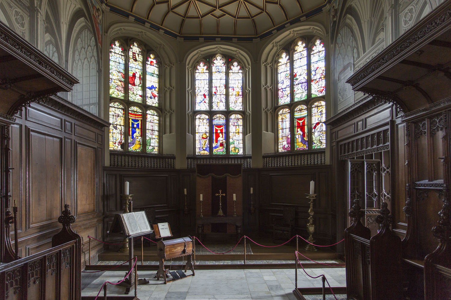 The Vyne's Tudor Chapel (photo Oskar Procter)