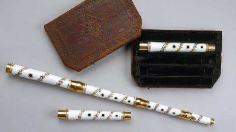 Meissen flute in the Royal Collection