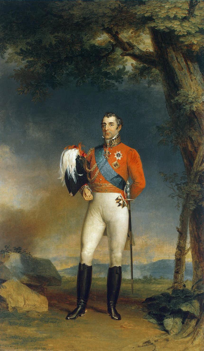 Duke of Wellington by George Dawe, 1829