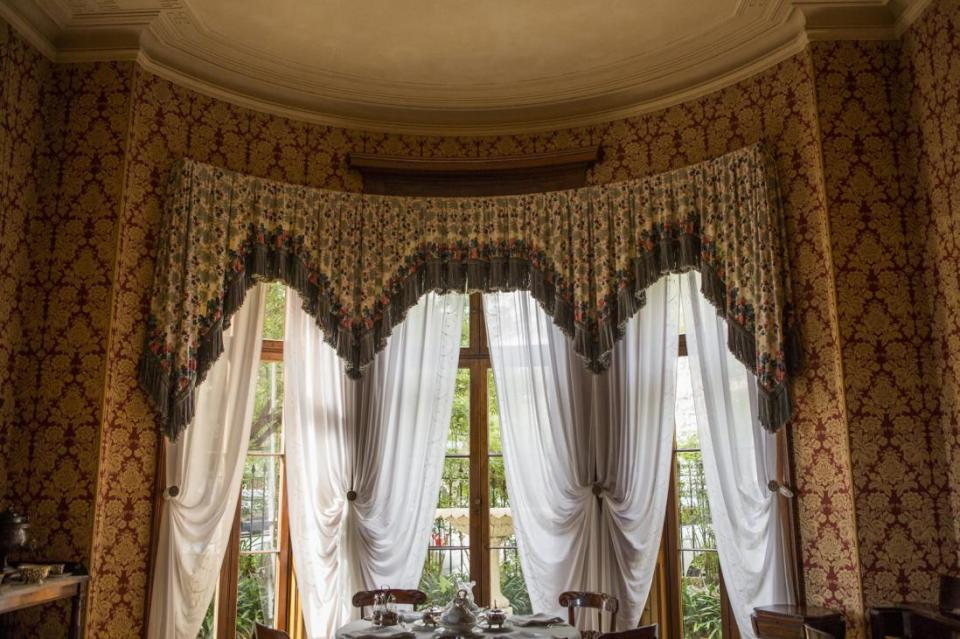 Elizabeth Bay House, Breakfast Room View