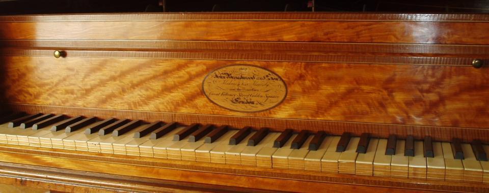 Grand piano by Broadwood 1802