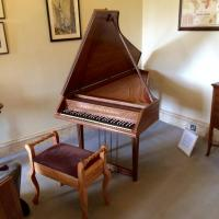 Goble Harpsichord at Mottisfont