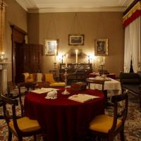 Elizabeth Bay House drawing room by candlelight. Photo © James Horan for Sydney Living Museums