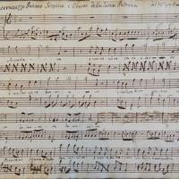 Page from Giovanni Battista Pergolesi's intermezzo La serva padrona