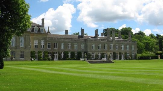 View of Boughton House from across the lawn
