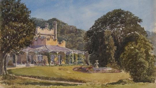 Vaucluse House, 1874 by F.L. Fisher in the Vaucluse House Collection, Sydney Living Museums