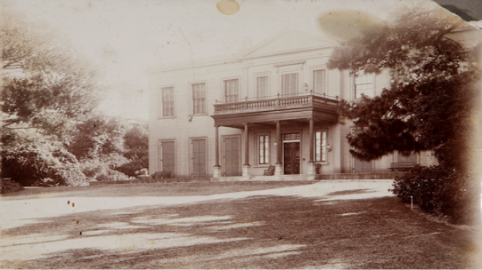 Photograph of Elizabeth Bay House, c.1902, Elizabeth Bay House Collection, Sydney Living Museums